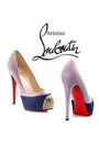 Silver-christian-louboutin-shoes