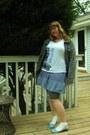 Aquamarine-irregular-choice-shoes-blue-target-dress