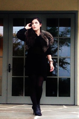 gianni bini boots - mesh BCBGMAXAZRIA sweater