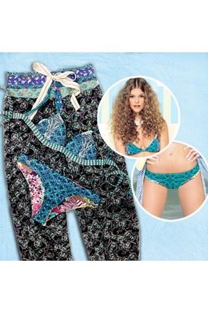 blue print bikini Maaji swimwear - blue print bikini Maaji swimwear
