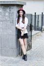 H-m-boots-wool-ecua-andino-hat-h-m-shirt-h-m-bag-zara-skirt