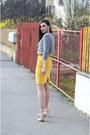 Heather-gray-zara-sweater-zara-heels-gold-h-m-skirt