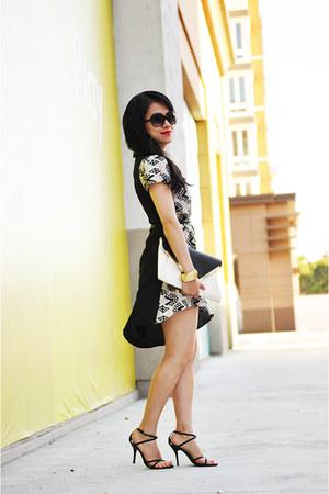 H&M bracelet - Blu Pepper dress - Forever 21 purse - Michael Kors sunglasses