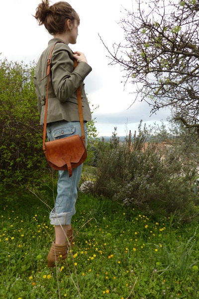 Zara boots - Diesel jeans - H&M jacket