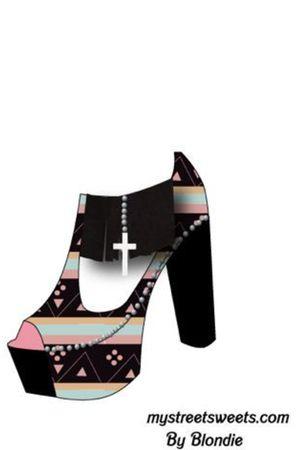 black jeffrey campbell contest shoes