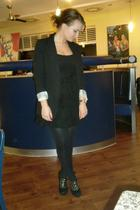 Primark blazer - H&M dress - Catwalk shoes
