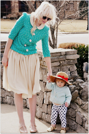 100 polyester PepaLoves cardigan - 100 polyester PepaLoves dress
