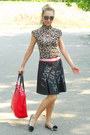 Black-leopard-print-mia-code-shoes-red-red-nike-bag