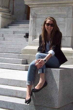 calvin klein blazer - shirt - H&M jeans - Aldo shoes - accessories - accessories