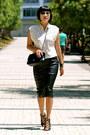 Black-chanel-bag-black-gladiator-prabal-gurung-x-target-heels-zara-skirt