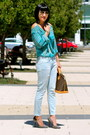 Siwy-jeans-louis-vuitton-bag-blue-forever-21-top