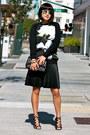 Black-altuzarra-x-target-sweater-black-chanel-bag-sunglasses