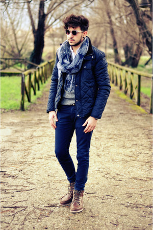 Zara jacket - XAGON MAN jeans - Brooksfield scarf