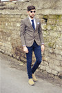 Xagon-man-jeans-williams-blazer-burberry-shirt-brooksfield-tie