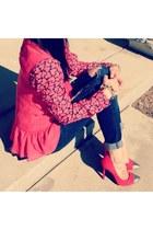 renegade Stella & Dot bracelet - pave link ily couture bracelet