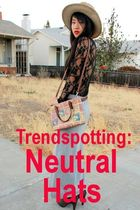 Trendspotting: Neutral Hats