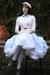 White-vintage-dress-blue-skirt-white-skirt-carrot-orange-dress-white-ski