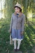 Heather-gray-vintage-dress-black-skirt-mustard-shirt-red-scarf-blue-dres