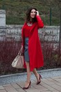 Ruby-red-sheinside-coat-heather-gray-pnfashionpl-skirt