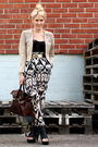 White-topshop-pants-black-tony-bianco-shoes-brown-mulberry-purse-beige-h-m