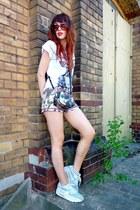 Parfois bag - Lefties shorts - nike sneakers