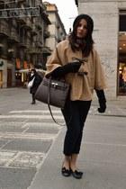 Hermes bag - Zara pants - Mauro Leone flats
