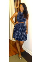 polka dots Forever 21 dress