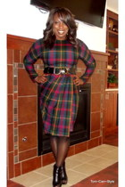 tartan plaid Salvation Army dress