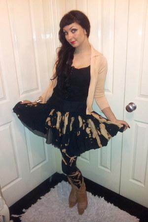 black top vivienne westwood top - black Pretty Disturbia leggings