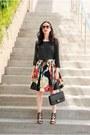 Black-dv-by-dolce-vita-shoes-black-chanel-bag-red-alice-olivia-skirt