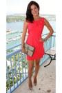 Red-bcbg-dress-vintage-gucci-bag-nude-patent-miu-miu-heels