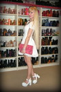White-black-milk-dress-bubble-gum-balenciaga-bag