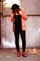 yuki jacket - Topshop boots