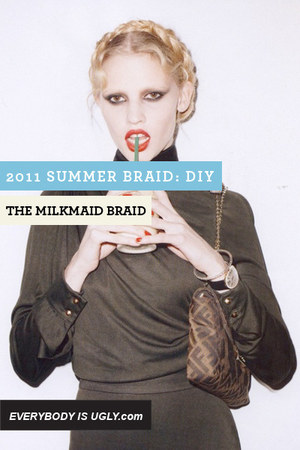 The Milk Maid Braid accessories