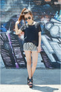 Striped-shorts-sheinside-shorts