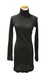 black Qi cashmere dress