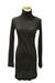 black Qi cashmere dress