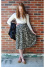 Cream-worn-underneath-h-m-dress-black-thrift-blazer-dark-green-thrift-neckla