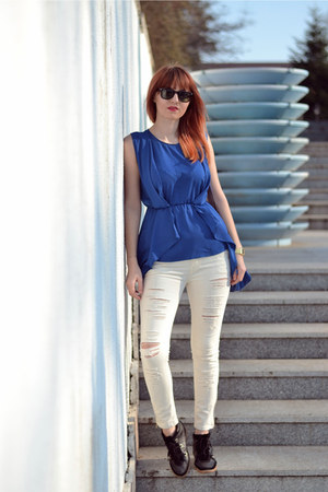 WalG blouse - zeroUV sunglasses