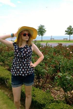 yellow Target hat