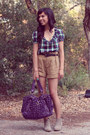 Francescas-bag-target-boots-forever-21-shorts-urban-outfitters-top