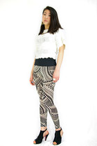 Jaggy leggings