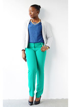 Loft jacket - Old Navy top - Loft pants - Ralph Lauren pumps