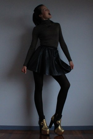 Jeffrey Campbell boots - Glassons top - Glassons skirt