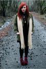 Asos-dress-zara-jacket-jeffrey-campbell-heels