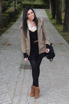 Zara jacket - H&M skirt - pull&bear shoes