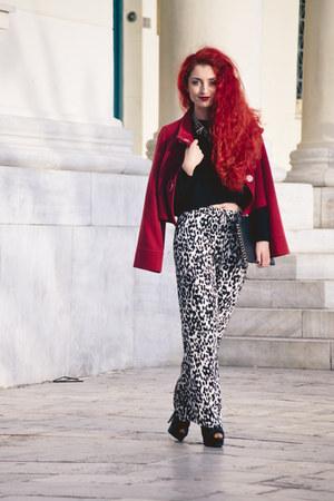 vintage jacket - Zara pants