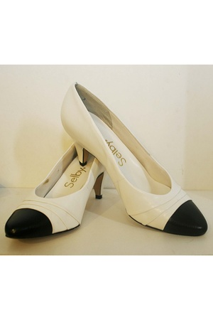 white Selby shoes