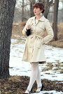 Black-striped-matty-m-dress-beige-trench-coat-freeway-coat