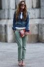 Bershka-jacket-blanco-bag-zara-sandals-zara-pants